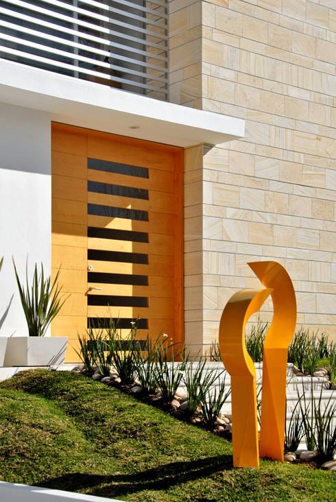 منازل تنفيذ Agraz Arquitectos S.C.