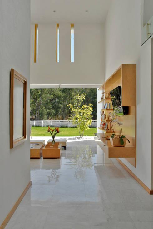 Fotografía: Mito covarrubias: Salas de estilo moderno por Agraz Arquitectos S.C.