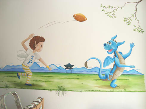 murales infantiles para nios