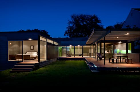 Casa Abierta: modern Houses by KUBE Architecture