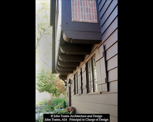 Facade Detail: classic Houses by John Toates Architecture and Design
