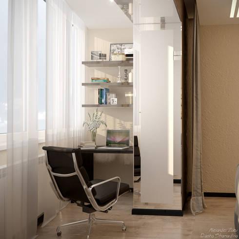 Phòng khách by Студия интерьерного дизайна happy.design
