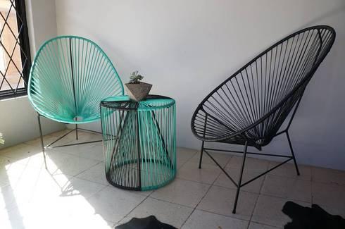 Set Acapulco | CÉRVOL: Espacios comerciales de estilo  por CÉRVOL