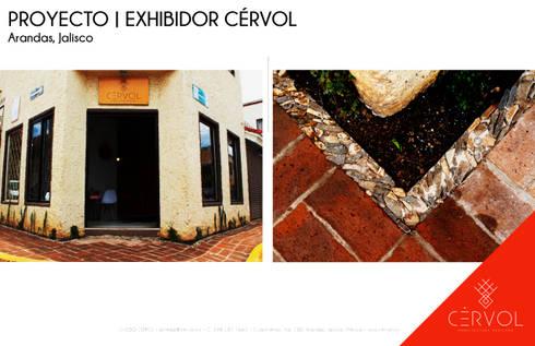 REMODELACIÓN | EXHIBIDOR CÉRVOL: Espacios comerciales de estilo  por CÉRVOL
