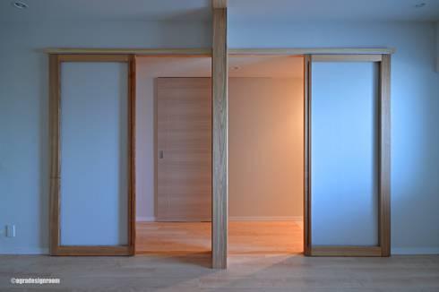 2人の子供のための部屋(Cuarto para dos niños.): アグラ設計室一級建築士事務所 agra design roomが手掛けた子供部屋です。