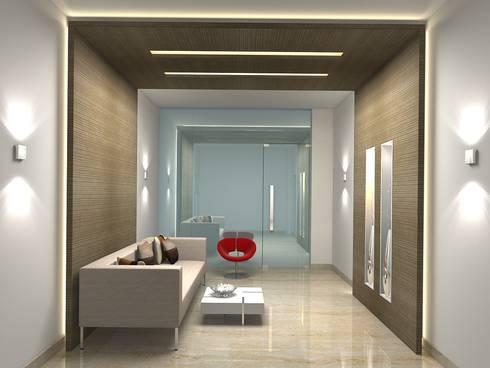 PURVANKARA, PURVA BLUEMONT CLUBHOUSE, COIMBATORE.:   by De Panache  - Interior Architects
