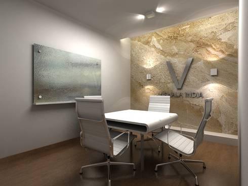 VISHALA INDIA OFFICE, BANGALORE. (www.depanache.in):   by De Panache  - Interior Architects