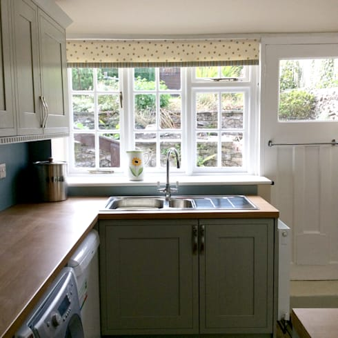 THE OWLETS HOLIDAY COTTAGE RENOVATION : country Kitchen by Interiors at Nine to Eleven