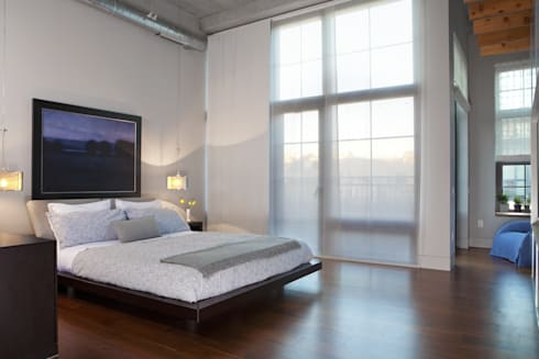 Adams Morgan Master Bedroom Lighting  : modern Bedroom by Hinson Design Group