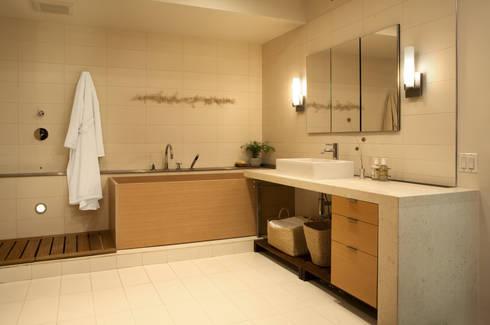 Adams Morgan Master Bathroom Lighting  : modern Bathroom by Hinson Design Group