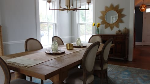 Dining Room: eclectic Dining room by Nest Interior Decor