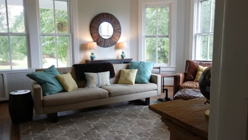 32: eclectic Living room by Nest Interior Decor