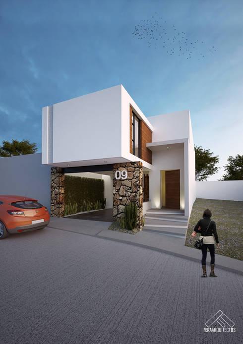 minimalistic Houses by FERAARQUITECTOS