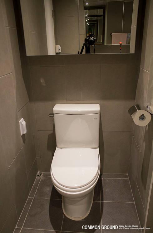 Ванные комнаты в . Автор – 커먼그라운드