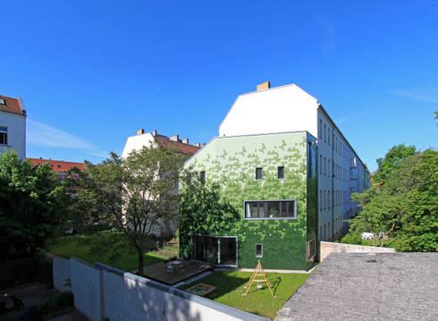 schuppen: modern Houses by brandt+simon architekten