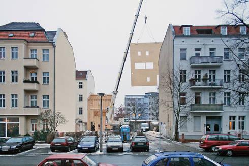 construction works: modern Houses by brandt+simon architekten