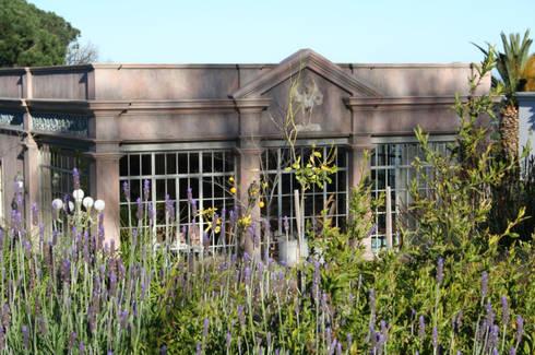 Enigma Mansion: mediterranean Garden by Urban Landscape Solutions