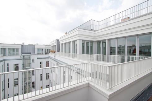 deckweiß: modern Houses by brandt+simon architekten