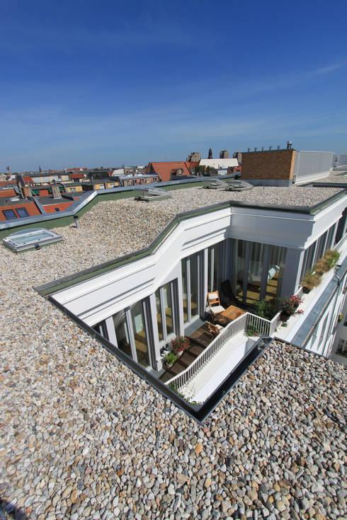 Casas de estilo  por brandt+simon architekten