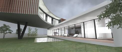 Casa CM: Casas modernas por 2L'atelier arquitectos