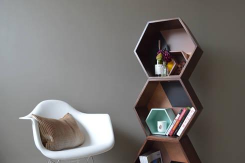 PANAL ON WOOD: Estudio de estilo  por APOTEMA Estudio de Diseño