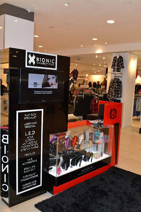 Bionic Kiosk / In Edgars Stores Nationwide:   by Oscar Designs