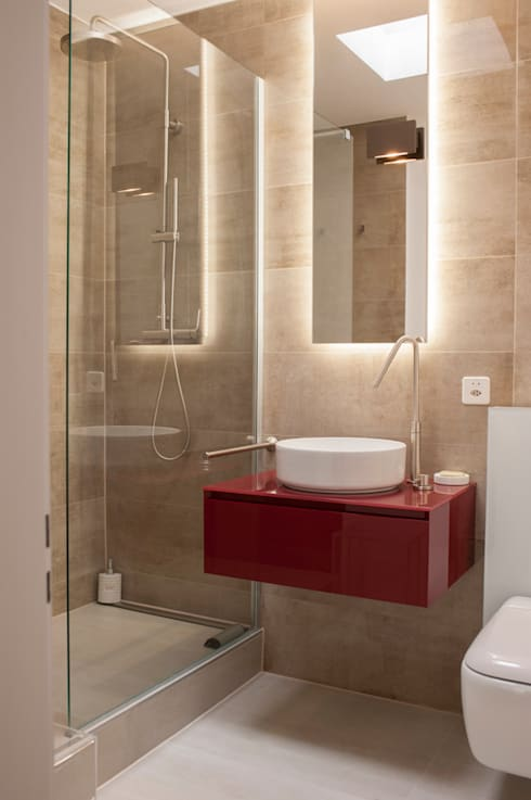 Bathroom by sandra marchesi architetto