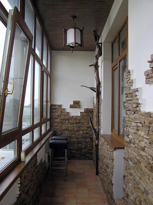 Квартира 180 м2 на Соколе: Tерраса в . Автор – Надежда Лашку
