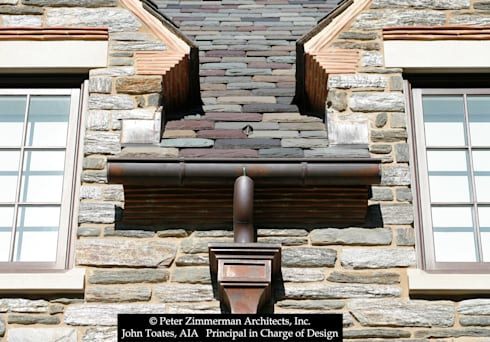 Gutter Detail: classic Houses by John Toates Architecture and Design