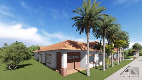 Casa RG:  de estilo  por ARQUITECTOnico