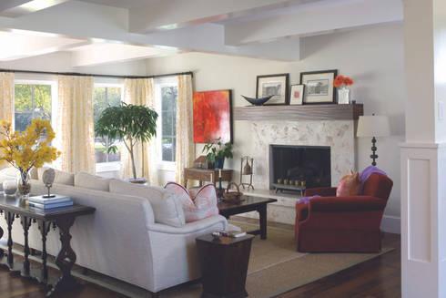 Renovation Remodel: classic Living room by Andrea Schumacher Interiors