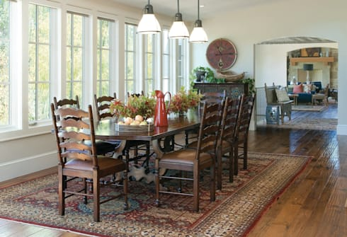 Renovation Remodel: classic Dining room by Andrea Schumacher Interiors
