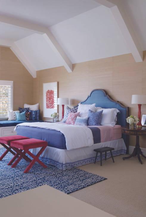 Renovation Remodel:  Bedroom by Andrea Schumacher Interiors