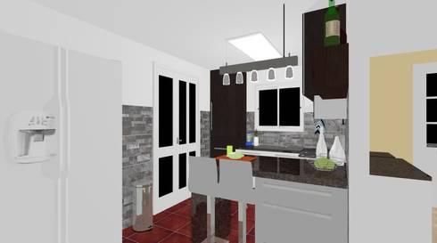 Remodelación Cocina :  de estilo  por Escay Soluciones