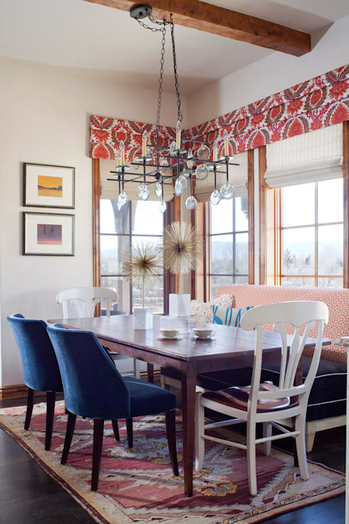 21st CenturyTraditional:  Dining room by Andrea Schumacher Interiors