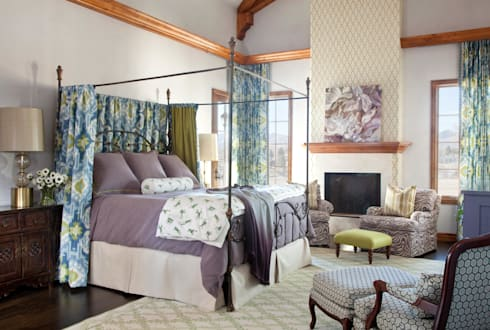 21st CenturyTraditional: classic Bedroom by Andrea Schumacher Interiors