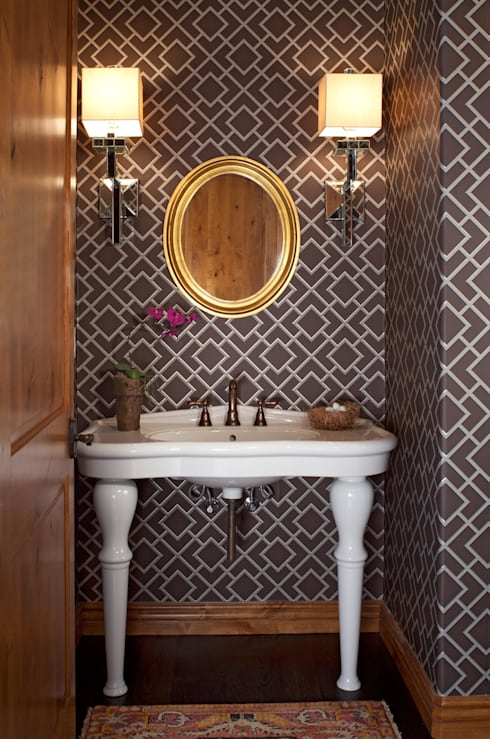 21st CenturyTraditional:  Bathroom by Andrea Schumacher Interiors