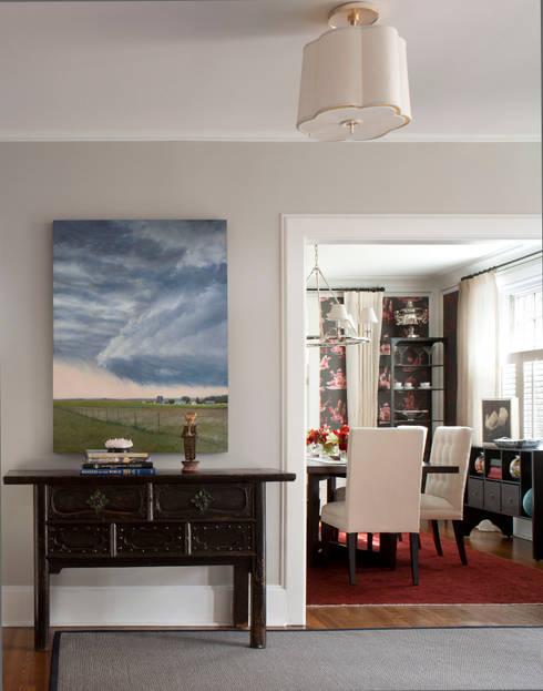 Denver Country Club Home:  Corridor & hallway by Andrea Schumacher Interiors