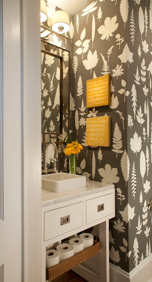Denver Country Club Home:  Bathroom by Andrea Schumacher Interiors