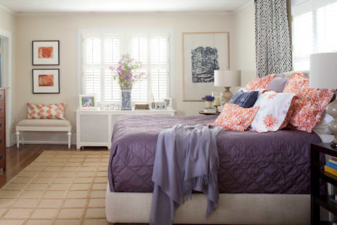 Denver Country Club Home: classic Bedroom by Andrea Schumacher Interiors