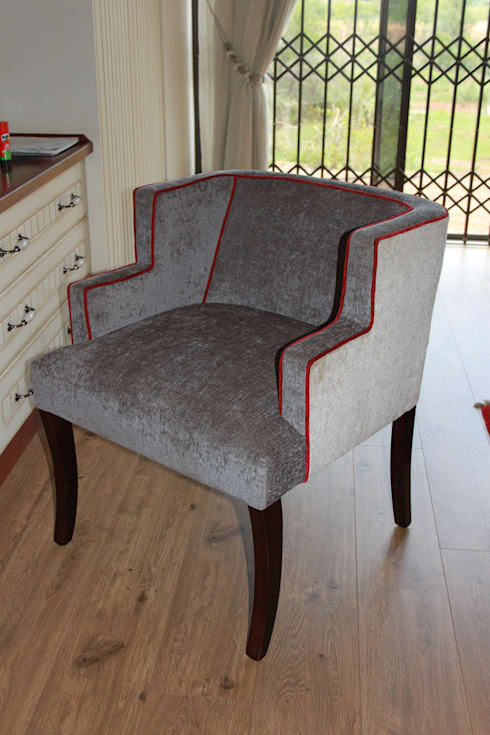 Bespoke Chair:  Office spaces & stores  by Inside Out Interiors