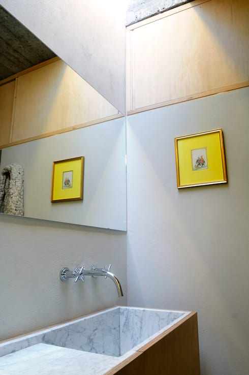 Casa SIRI · Paula Herrero | Arquitectura: Baños de estilo moderno por Paula Herrero | Arquitectura