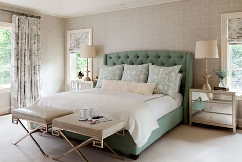 Cherry Creek Traditional with a Twist: eclectic Bedroom by Andrea Schumacher Interiors