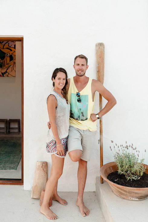 Jardines de estilo  por Ibiza Interiors - Nederlandse Architect Ibiza