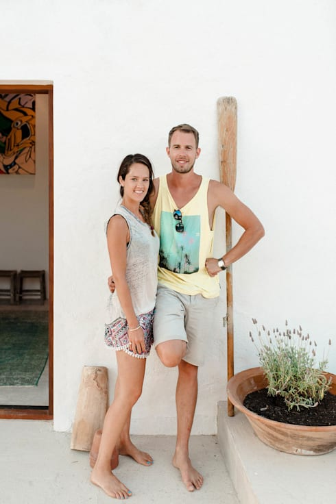 Ibiza Interiors - Nederlandse Architect Ibiza:  tarz Bahçe