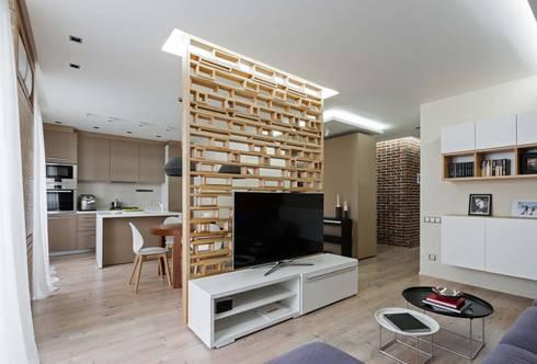 modern Living room by EUGENE MESHCHERUK   |  architecture & interiors