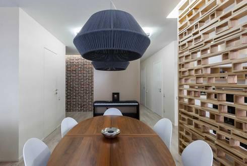 modern Dining room by EUGENE MESHCHERUK   |  architecture & interiors