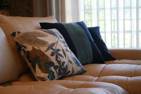 Decoração de Habitação Unifamiliar: Sala de estar  por Palma Interiores