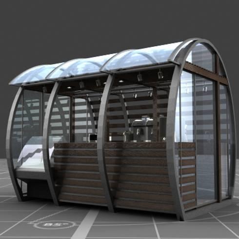 Barril Cafe:  de estilo  por KALI diseño.MX