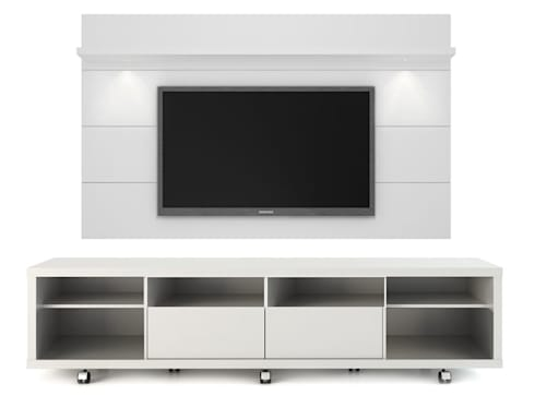 MODELO 9A  - MUEBLE DE PARED HOME THEATER: Salas / recibidores de estilo minimalista por 3 DECO
